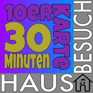 10er Karte 30 Minuten + Hausbesuch