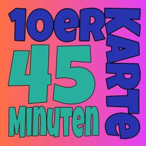 10er Karte 45 Minuten